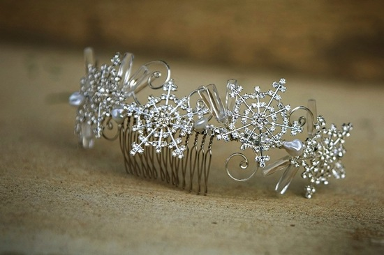photo of Sweet Snowflake Pretties for Enchanted Winter Weddings