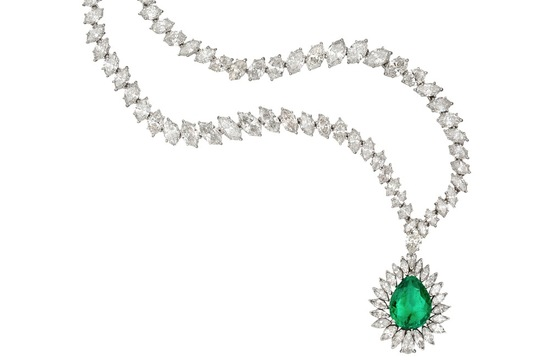 Introducing Pantones Color of the Year Emerald Bridal Jewelry 1