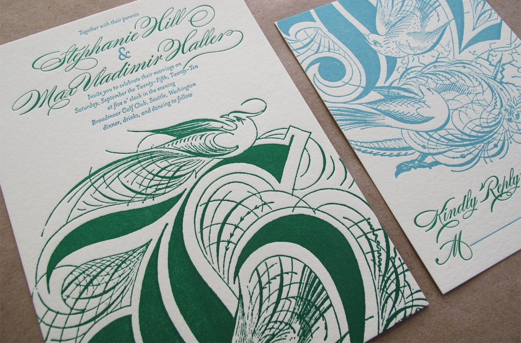 Elegant-letterpress-wedding-invitations-emerald-green-aqua.full