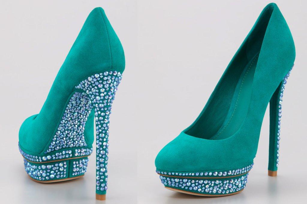 Platform-emerald-suede-wedding-shoes.full