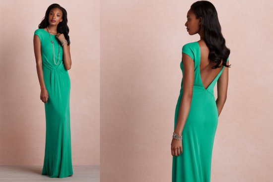 Emerald Green Bridesmaid Dress BHLDN