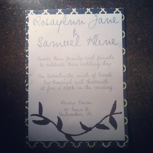 photo of Lovely Print and Design Wedding Invitations and Stationery
