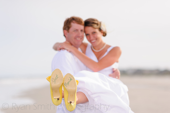 Just married on the bottom of the shoes - Litchfield_7292160512_o