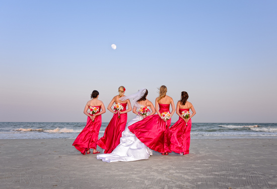 Bridal party in the sunset - Grande Dunes - Ocean_5861878946_o