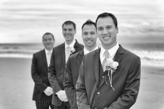 Nice shot of the groomsmen - Kingston Plantation - North_6264209526_o