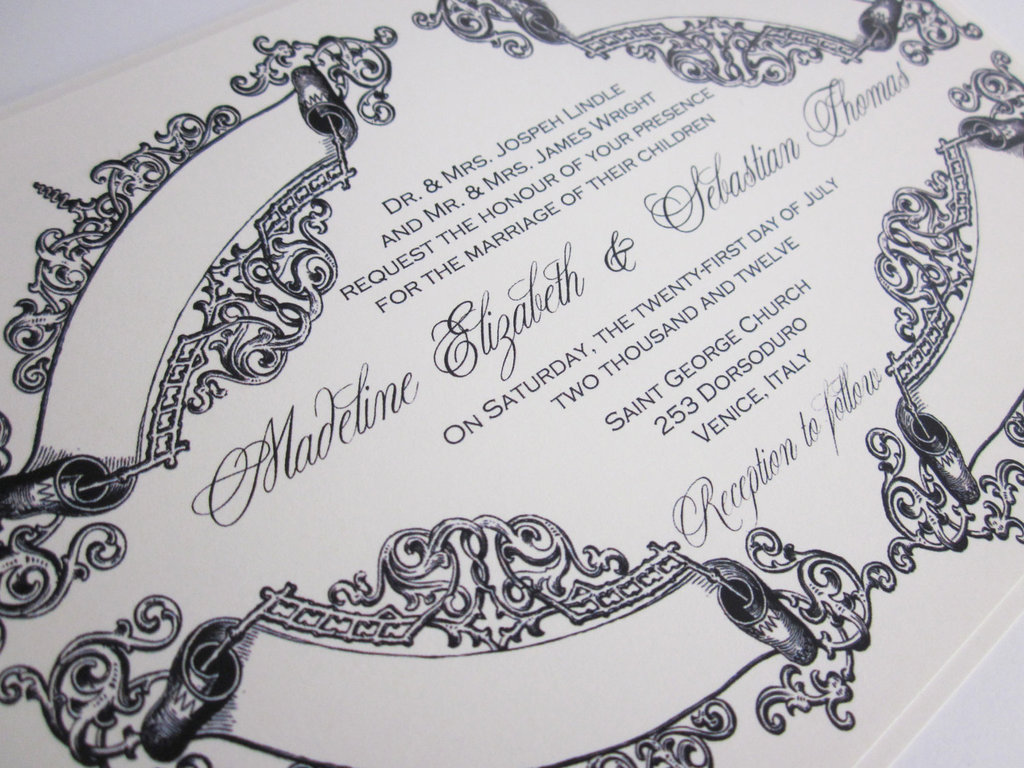 Vintage-wedding-themes-baroque-invitations-navy-and-white.full