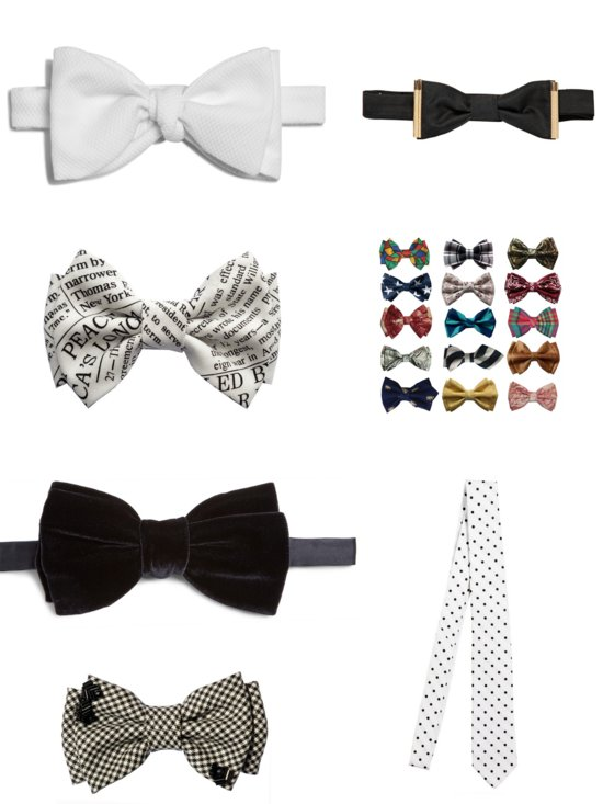 Stylish Bow Ties and Neck Ties for Grooms