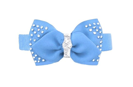 French Blue Bow Tie for Grooms Best Friend