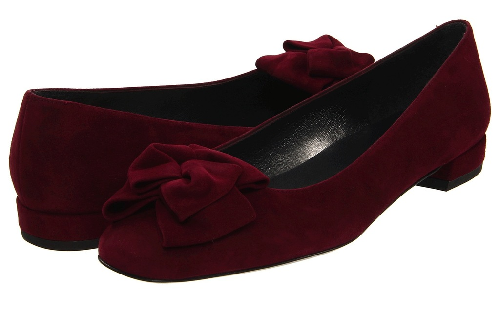 Flat-velour-wedding-shoes-in-deep-red.full
