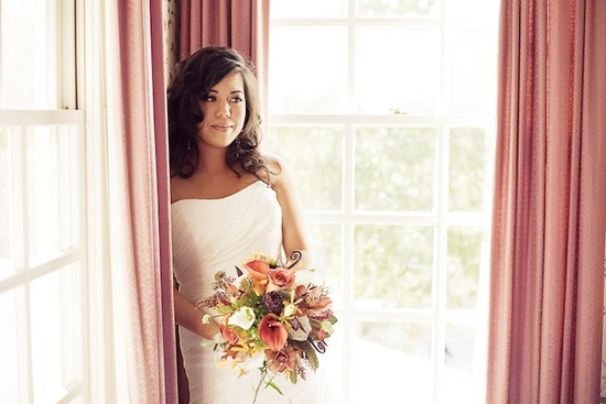 photo of Rustic Fall Bridal Bouquet Classic Bohemian Bride