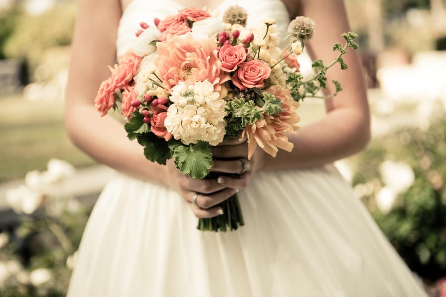Rustic Romantic Wedding Bouquets