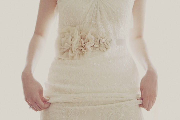 Ivory-lace-wedding-dress-with-romantic-embellished-sash.full
