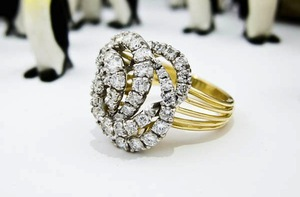 photo of Dazzling Engagement Rings that Double as a Bride's Something Old