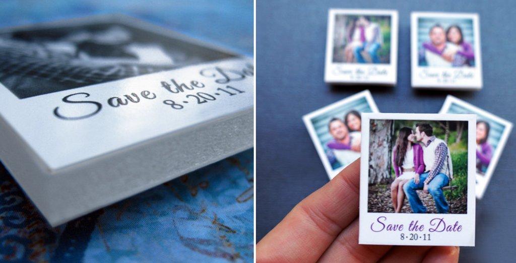 diy unique wedding save-the-dates- wood blocks to build wedding puzzle, Wedding invitations