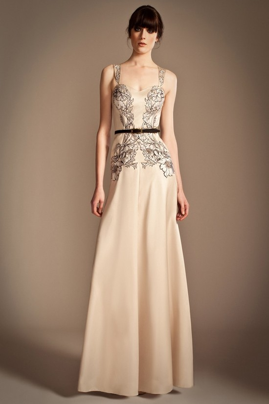 Pre Fall 2013 Temperley London Bridal Gown Inspiration