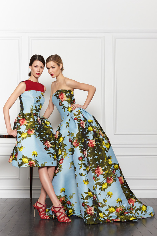Cute Carolina Herrera Bridesmaid Dress Inspiration