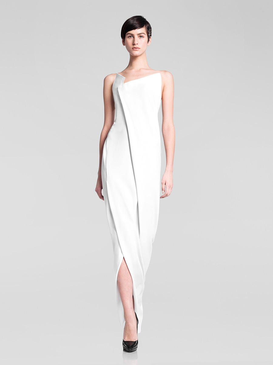 Wedding dress inspiration donna karan pre fall 2013 37 for Donna karan wedding dresses
