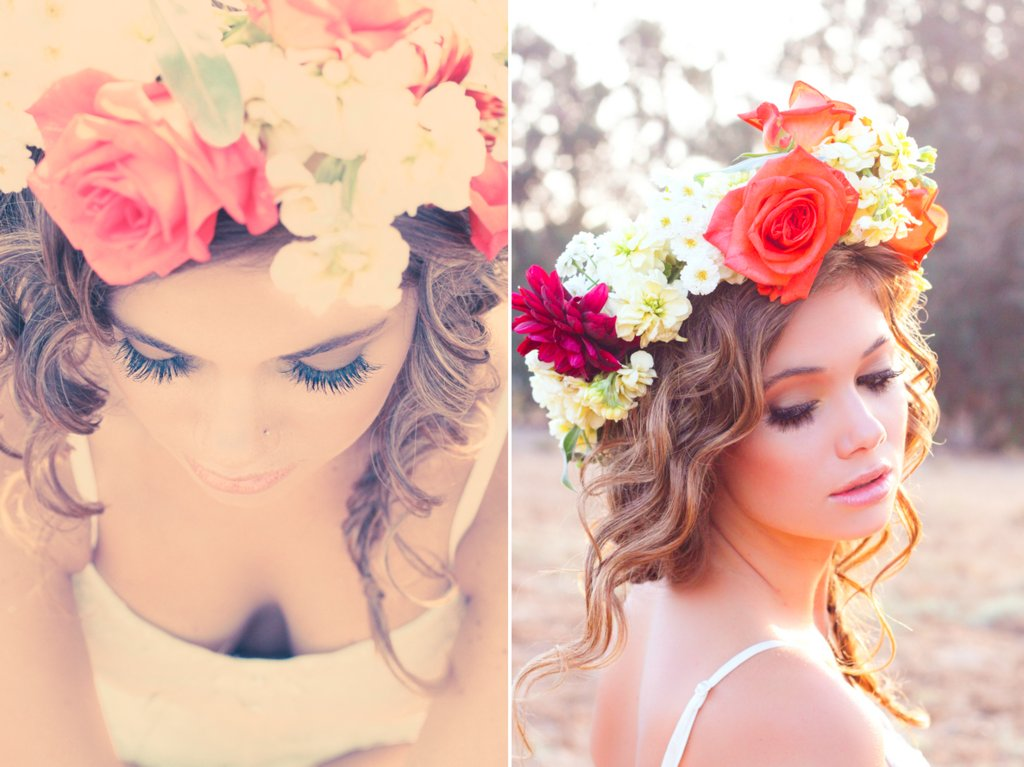 Bohemian-bride-diy-floral-hair-crown.full