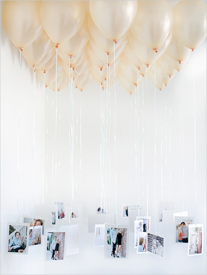 DIY Wedding Ideas Balloon Chandelier