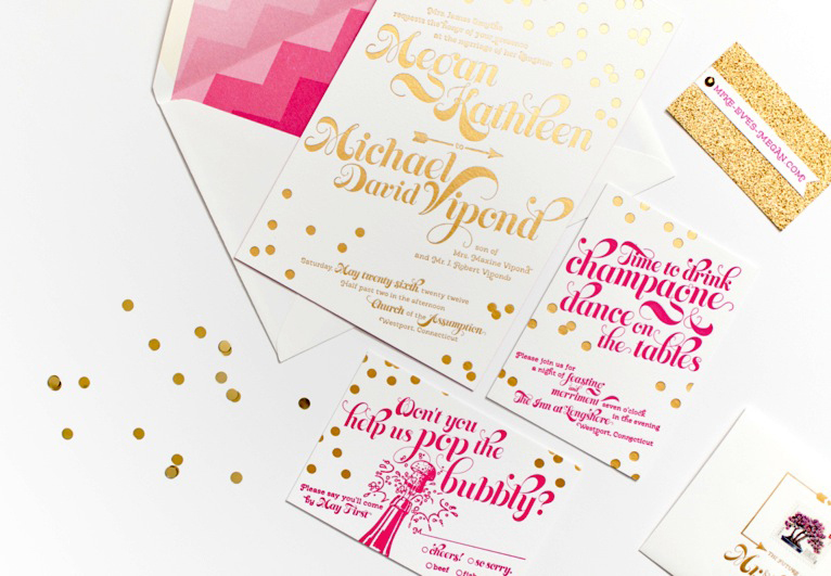 Gorgeous-wedding-invitations-pink-gold-confetti.full