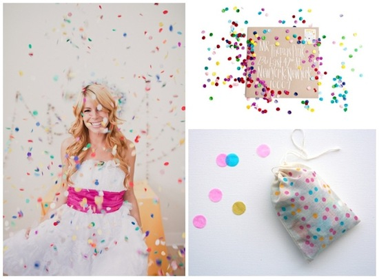 Confetti Wedding Inspiration