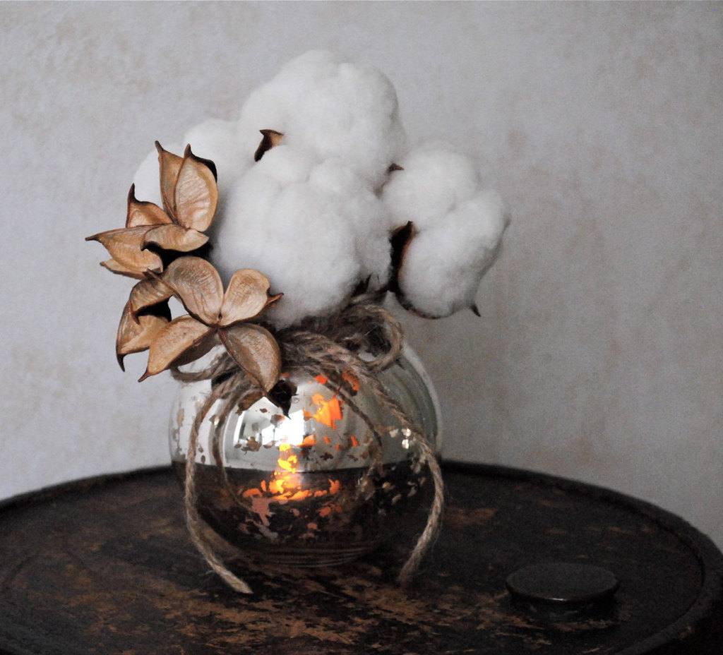Mercury-glass-and-cotton-wedding-centerpiece.full