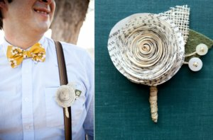photo of Awesome Eco Alternatives to the Traditional Groom's Boutonniere