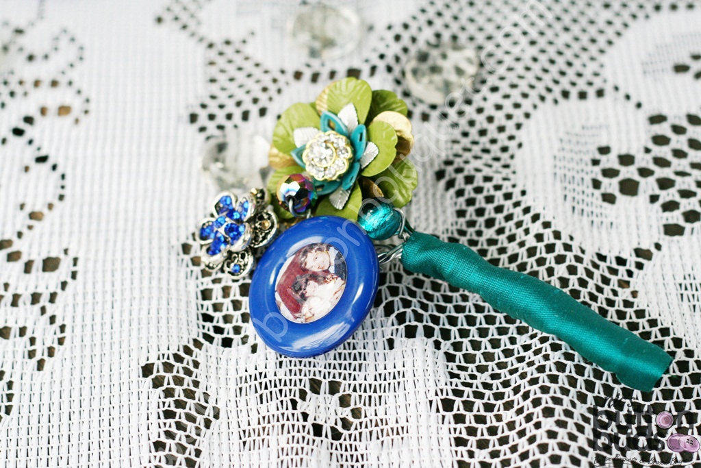Vintage Brooch Grooms Boutonniere
