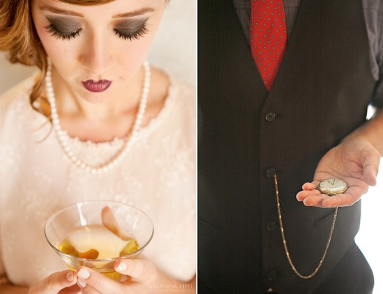 photo of Glamorous Great Gatsby Wedding Inspiration