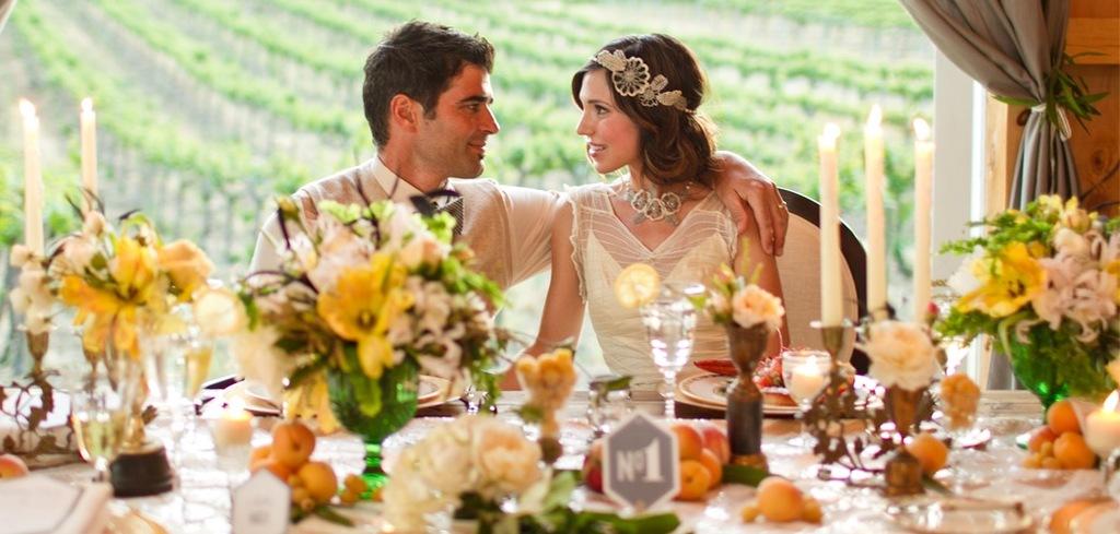 Vintage Wedding Themes Great Gatsby Reception Decor