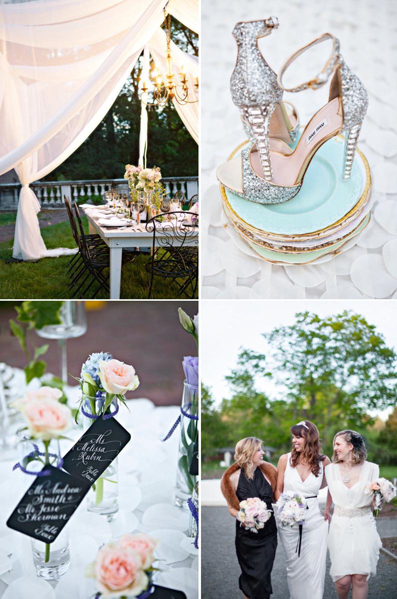 Great Gatsby Wedding Theme Bridal Style Reception Decor 3