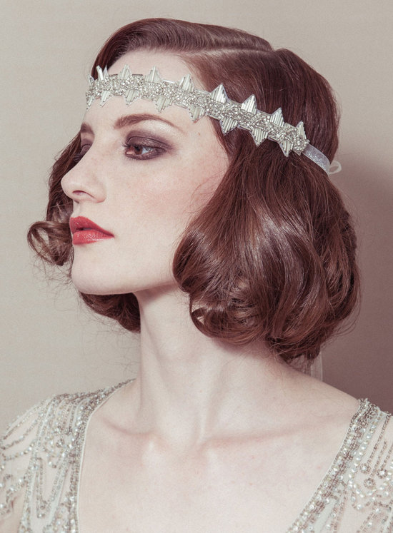 Vintage Bridal Headband Great Gatsby