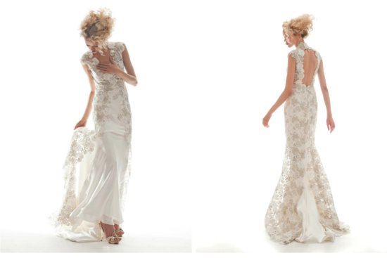 Elizabeth Fillmore Wedding Dress Spring 2013 Bridal Arabelle