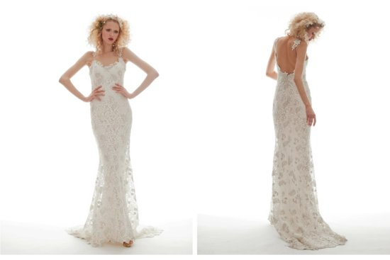 Elizabeth Fillmore Wedding Dress Spring 2013 Bridal Flora