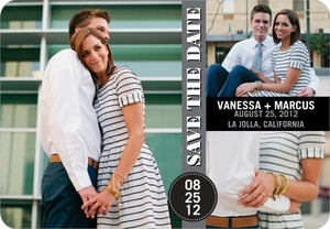 photo of Save the date magnets, City Collage