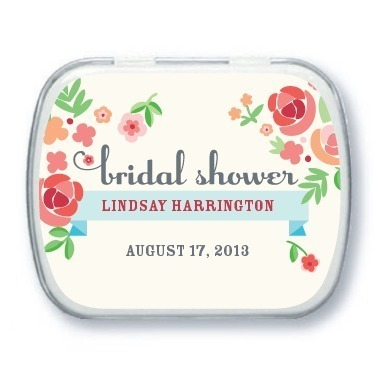 Personalized mint tins, Blooming Banner