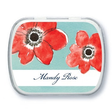 Personalized mint tins, Ever So Sweet