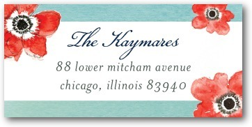 Personalized address labels, Ever So Sweet