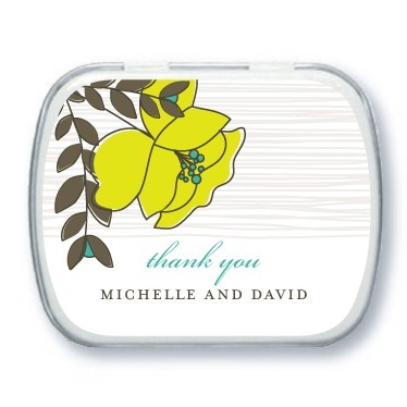 Personalized mint tins, Mister and Missus