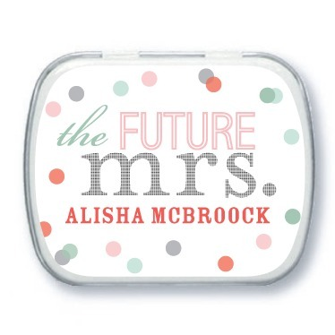 Personalized mint tins, Future Title