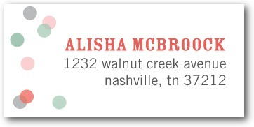 Personalized address labels, Future Title