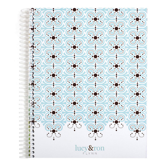Notebooks, Candy Lace Monthly Notebook