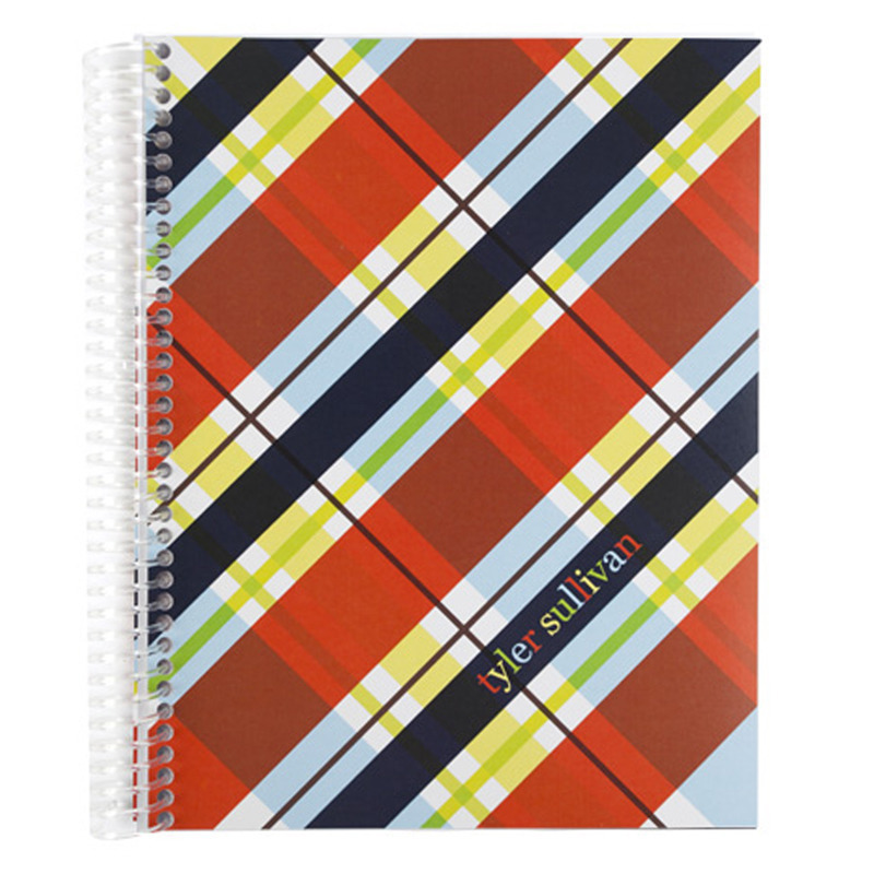 Notebooks, Rad Plaid Monthly Notebook