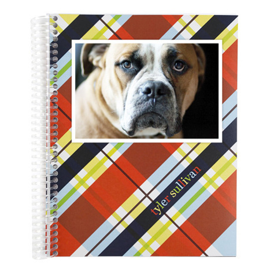 Notebooks, Photo Rad Plaid Monthly Notebook