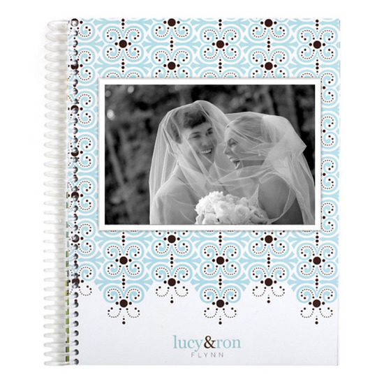 Notebooks, Photo Candy Lace Monthly Notebook