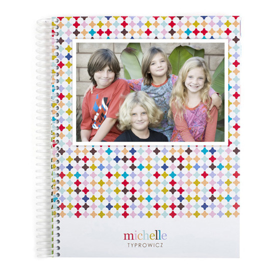 photo of Notebooks, Photo Trellis Monthly Notebook