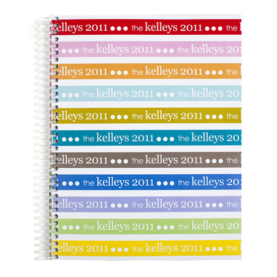 photo of Notebooks, Signature Stripes Monthly Notebook