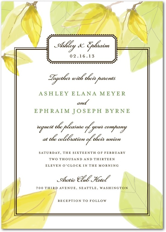 Signature white textured wedding invitations, Mellow Elegance