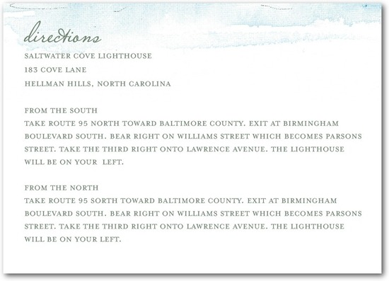 Signature white textured enclosure cards, Serene Seaside