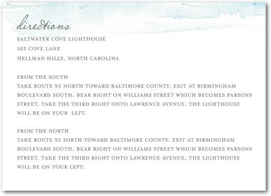 photo of Signature white textured enclosure cards, Serene Seaside